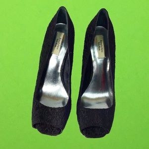 Vera wang Black womens Heels
